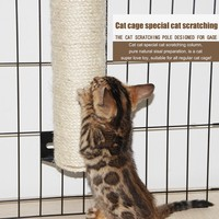 Cat Cage Scratching Post Accessories Cat Climbing Frame Anti Scratch Cat Scratching Post Cat Claw Board Toys