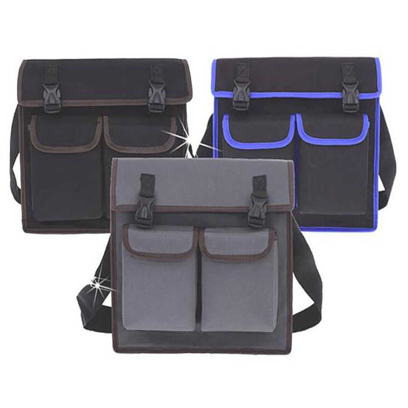 Multifunctional Shoulder Bag Hardware Electrician Tool Kit Storage Bag Waterproof Wear Oxford Cloth Tool Kit Thicken Tool Bag