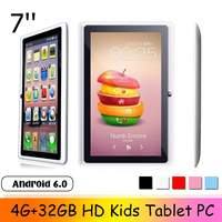 New Design LEORY 7 inch HD Kids Tablet PC 4G+32GB Android 6.0 Quad Core 4000mAh Children Pad WIFI bluetooth Navigation Tab