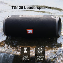 Bluetooth Speaker Kolom Wireless Portable Kotak Suara 20W Stereo Bass Subwoofer FM Radio BOOMBOX AUX USB PC Sound Bar TG215(China)