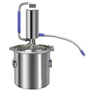 Image 5 - 20L Moonshine Distiller Brewing Alcohol Mashine Home brewing Liquor Brandy vodka Distiller ,Comprises Brewing accessories
