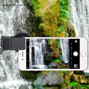 Image 5 - Lente de teléfono móvil CPL 37MM Filtro de lente profesional lente para cámara de teléfono móvil Filtro de cierre ND2 400 para Smartphone Pad ordenador