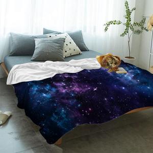 Image 2 - Uzay atmak battaniye mistik gökyüzü yıldız kümeleri Cosmos bulutsusu göksel manzara sanat sıcak mikrofiber battaniye