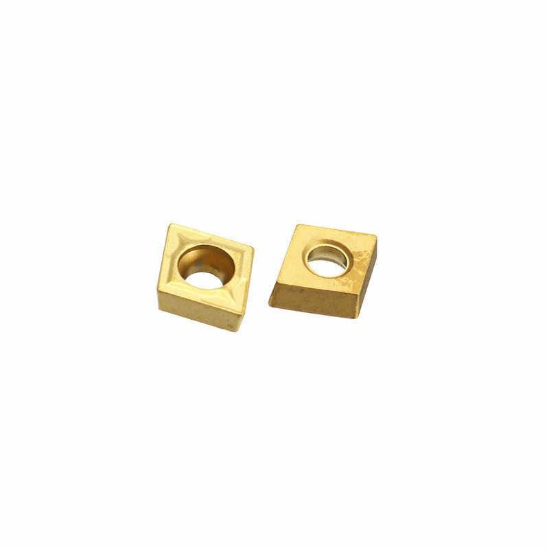20pcs UE6020 CCMT060204 CCMT21.51 New Carbide Inserts