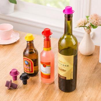 1 sztuk silikonowy cylinder piwo koktajl nakrętka na butelkę ponowne wykorzystanie akcesoria barowe do wina piwa butelka nowość uszczelniacz korek pokrywa tanie i dobre opinie CN (pochodzenie) SILICONE Na stanie Korki do wina 5-10 cm Przybory barowe Wine Toppers Vacuum Sealed Wine Bottle Bar Tools