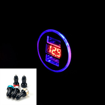 3.1A Dual USB Car Charger LED Display For Toyota SIENTA Vellfire Verso PROACE Hilux Tacoma Tundra 4Runner FT-EV FT-HT FT-AC image