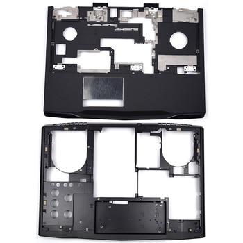 NEW Laptop Palmrest Upper Case/Bottom Base/Back Cover E Cover For Dell Alienware M17X R3 R4 0WMCFH 0M1P0R 0K9J44 0R59N5 цена 2017