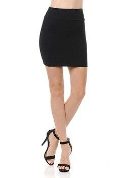 MIARHB Skirts Womens Plus Size High Waist Classic Simple Stretchy Tube Pencil Mini Sexy Skirt Faldas Mujer Moda 2020 Miniskirt 5