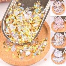 10 г(около 1000 шт) корпус из смешанного пластика блестящие пайетки шитье для DIY аксессуары для одежды украшения CP2676