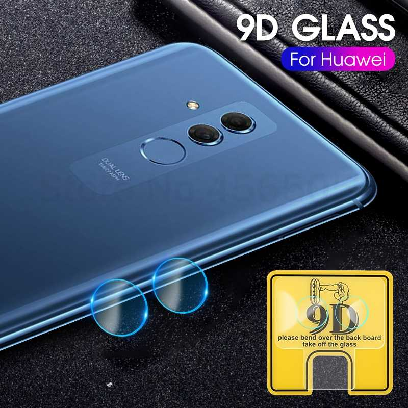 2PCS 9D Camera Protective Lens For Huawei Mate 20 10 Lite P Smart Z Nova 3e Camera Screen Glass For Huawei Y9 Prime 2019 Y6 2018