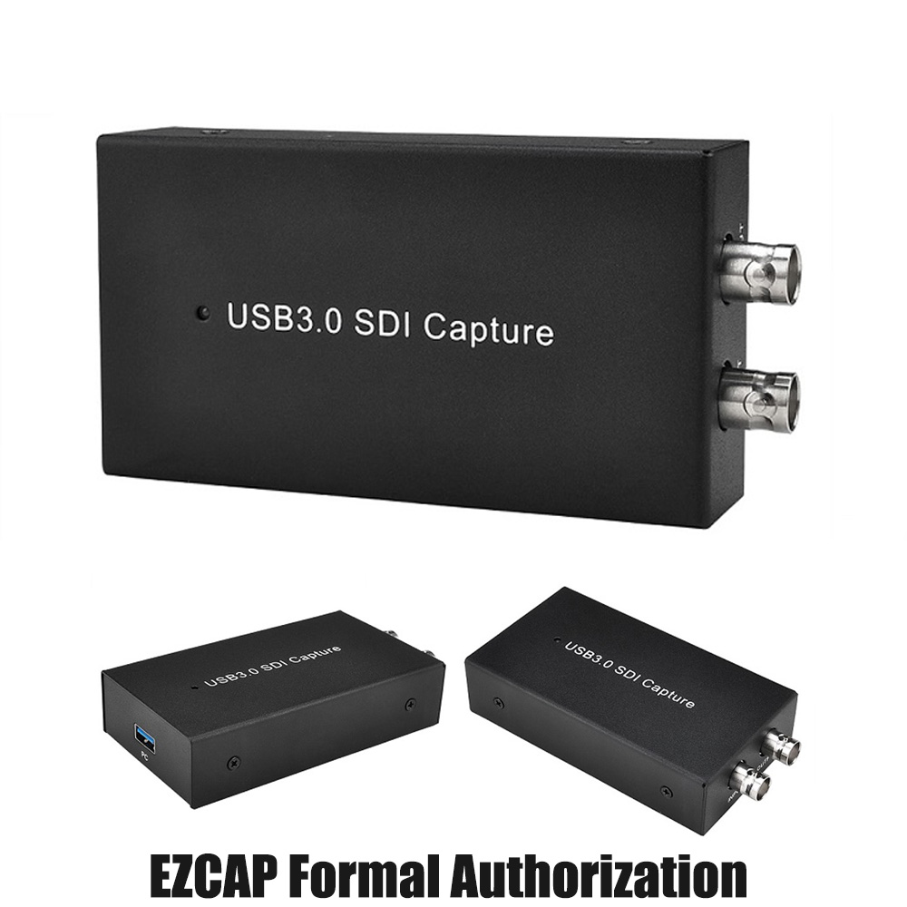 Ezcap262 USB3.0 UVC SDI Video Capture HD Video Recorder 1080P 60FPS Game Capture Device Live Streaming Windows Linux Os X System image