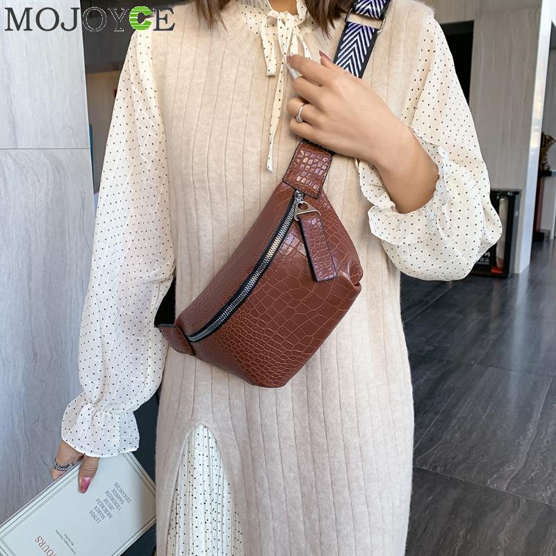 Women Travel Waist Fanny Crossbody Pack Belt Pouch Hip Bum Bag Purse Handbag Solid Women Bag