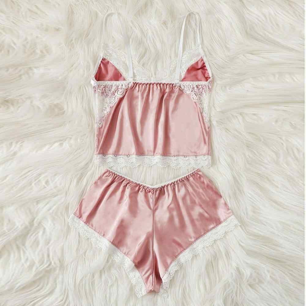 Sexy Lingerie Feminina Inverno Solúvel Em Água Flutuante Flor Rendas Cílios Perspectiva Tentação Estilingue Camisola Pijamas Set Novo