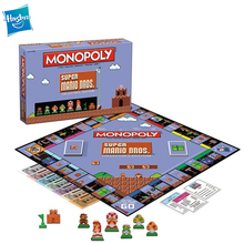 Hasbro Monopoly Super Mario Bros Collector's Edition Puzzle Board Games Family party Gaming Strategy Games toys