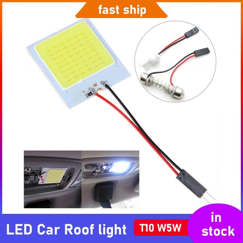 Светодиодные ночные светильники на крышу автомобиля, лампа в Галактическом стиле, с USB-разъемом, декоративный Cob светильник T10 W5W 18 24 36 48