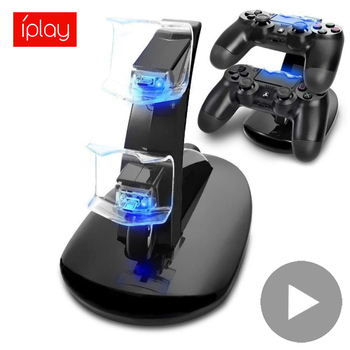 цена на Support for Sony Playstation PS4 Controller Play Station PS 4 Pro Slim Dualshock 4 Charger Control Charging Dock Stand Gamepad