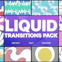 Liquid Transitions Pack | Motion Graphics Pack - Download Videohive 22776105