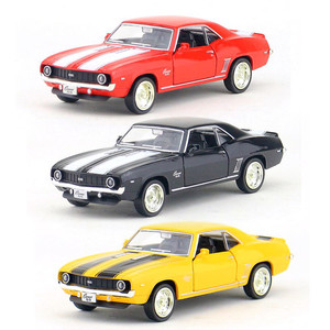 1:36 Chevrolet Camaro SS Car model toys Pull Back Alloy Diecast Model Car Toy Sports Car Model Toys Christmas Gifts For kids