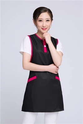 Kitchen Restaurant Fruit Supermarket Hotpot Restaurant Waiter Waterproof Korean Version Of Fashion Girdle Custom LOGO