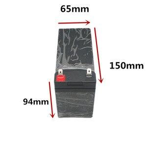 Image 4 - 12V7Ah 8Ah10Ah12Ah استبدال الرصاص الحمضية لحقيبة بطارية ليثيوم رذاذ كهربائي خاص البلاستيك 18650 صندوق تخزين أخضر أسود