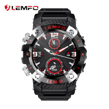 LEMFO LEMD1 montre intelligente Bluetooth 5.0 casque sans fil 360*360 écran HD 2en1 LEMD smartwatch pour Android IOS(China)