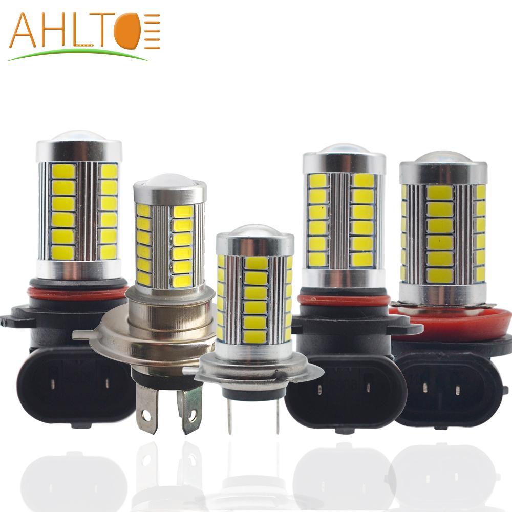 5630 33SMD H4/H7/H11/1156/1157/9006/9005 DC 12V Fog Light 6000K Day Time Running Car Headlight Bright White Turning Parking Bulb