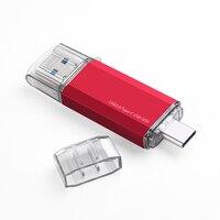 Mobile Phone Type C USB Flash Drive USB 3.0 16GB 32GB USB C Pendrive 64GB Memory Stick 128GB Pen Drive For Desktop Laptop Tablet