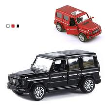 LeadingStar Car Model Alloy Pull Back Model Car Model Toy Pull Back Toy Car For G65 SUV AMG Toys For Boys Children Gift hot children s toy tractor container storage box with pull back metal car model set toys for boys birthday gift kids toy store