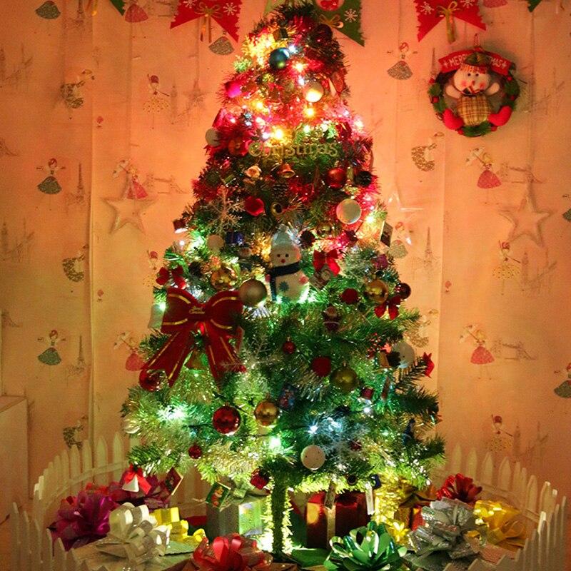 Weihnachten Dekoration Ornament Luxuriöse Sets Baum Decor Anhänger LED Licht Weihnachten Baum Figuren Party Dekorationen Diy Handwerk - 3