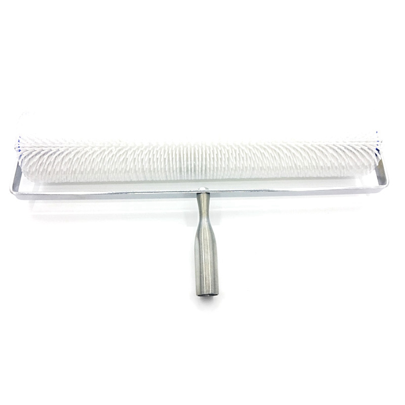 Diy 20 Inch 28Mm Spiked Aeration Floor Roller Hand Tools Self Levelling Cement Defoaming Roller Screed Tools Accessories