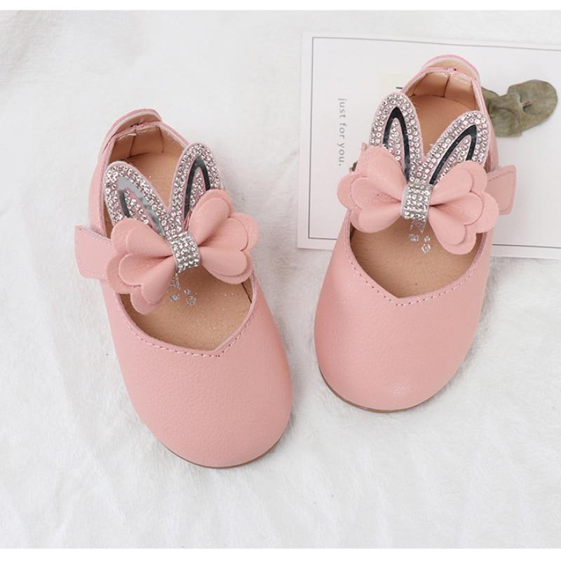 mary janes sapatos menina da crianca sapatos de orelha coelho princesa 05