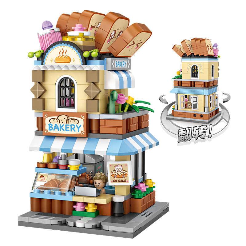 4Boxes 1523PCS LOZ MINI Blocks Kids Building Toys Girls Puzzle GIFT 1645-1648