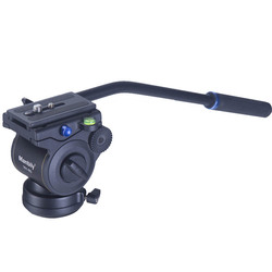 Manbily Video Fluid Pan Head Pro Damping Hydraulic Panoramic Tripod Head for DSLR Cameras Video Camcorders Shooting Filming