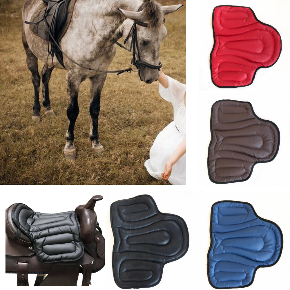 Equestrian Saddle Horse Saddle Pad Accessories Sponge Harness New Thick Wear-resistant Saddle Shockproof Cushion Horse Equipment