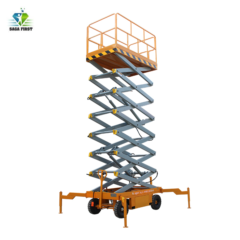 Good Quality Full Electric Platform Scissor Lift With Best Price