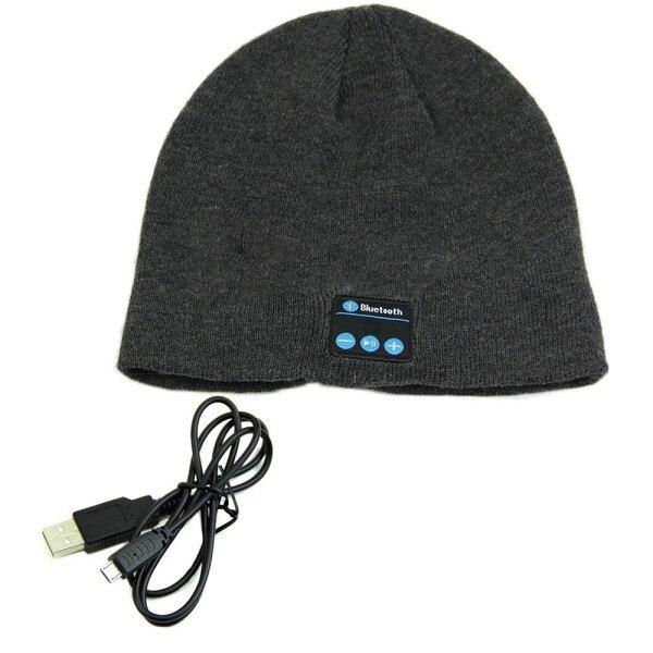 Soft Warm Beanie Hat Earphone Wireless Bluetooth Smart Cap Headset Headphone Speaker Mic Bluetooth Hats S2 New
