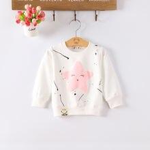 Diimuu детская одежда для маленьких девочек топы свитер детский