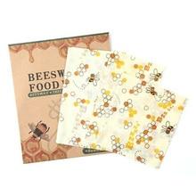 Многоразовый пчелиный воск ткань обертывание еда свежий мешок крышка стрейч крышка Джунгли вечерние пчелиный воск обертывание пластиковая обертка