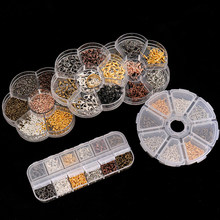 XINYAO-Estilos mixtos de joyería DIY, accesorios de joyería, cuentas de Material, pendientes de copa, gancho de anillo, caja de Pin, conjuntos para fabricación de joyas