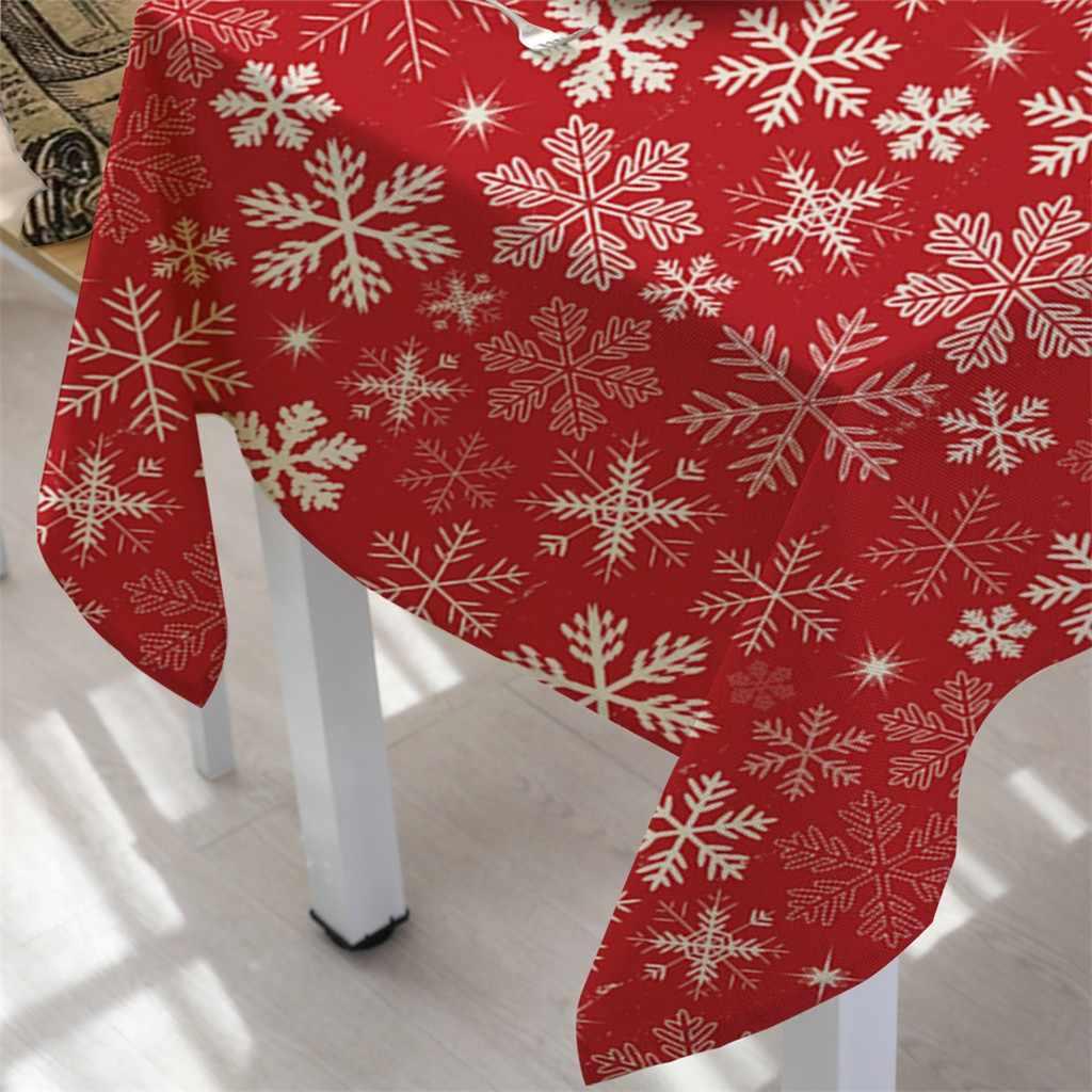 Decoración navideña mantel Rectangular para mesa de té comedor hogar Decoración mantel venta al por mayor decoración de Ventas Directas