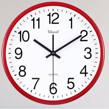 Large Decorative Wall Clocks Home Decor Self Adhesive Silent Digital Wall Clock Modern Design wanduhr Kids Wall Clock WKP453