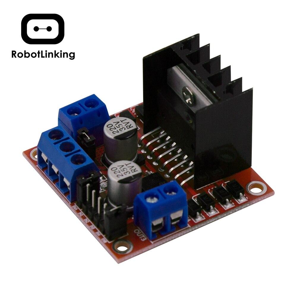 L298N Motor Drive Controller Board Module Dual H Bridge DC Stepper For Arduino