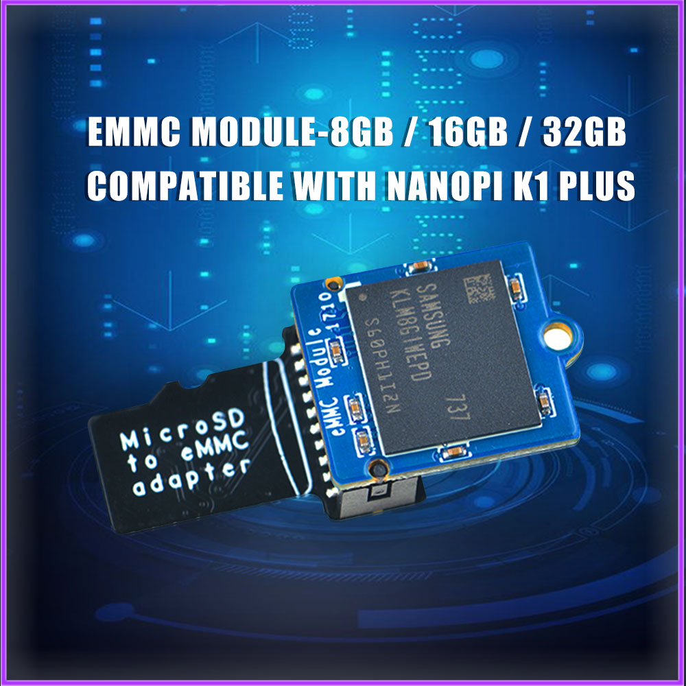 EMMC Module 8GB / 16GB / 32GB Compatible With Nanopi K1 Plus K2 M4 NEO4 M4V2