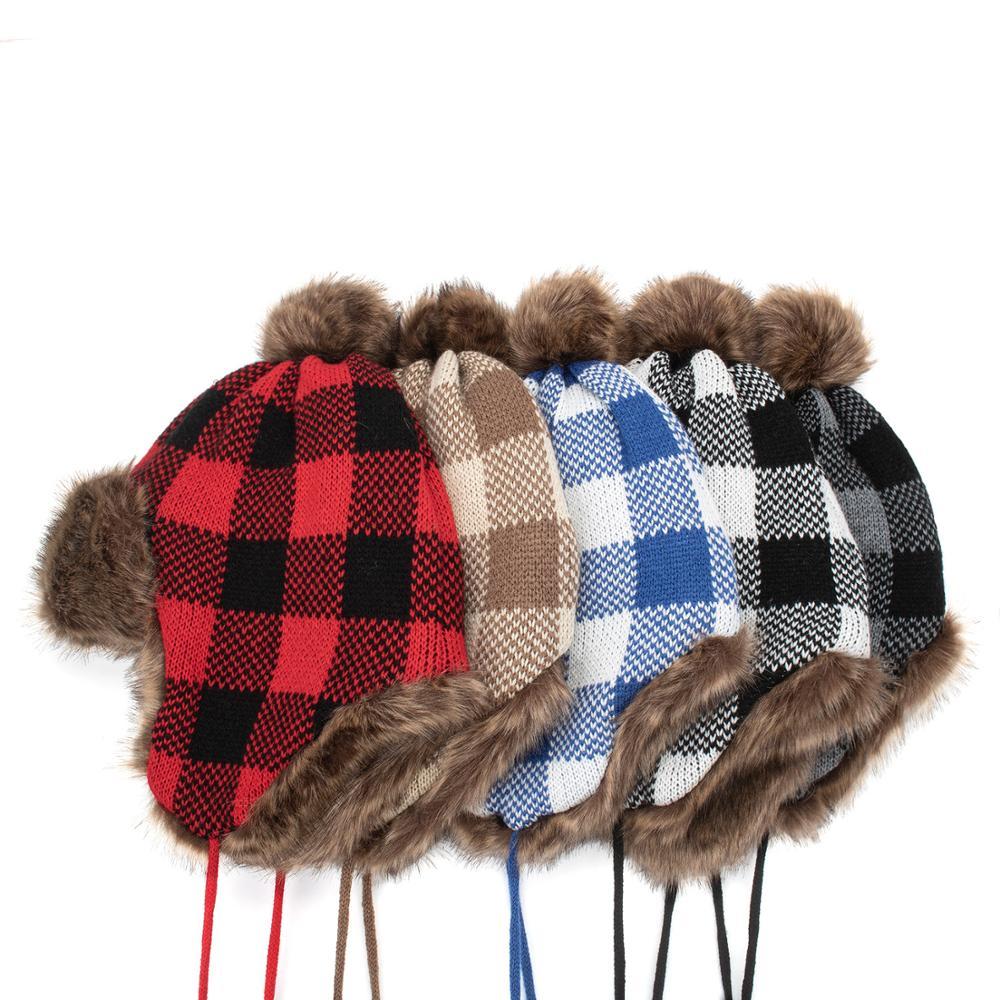 Новая классическая зимняя мужская шапка бомбер меховая мягкая