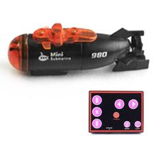 Electric Simulation Mini Submarine Model Toy Infrared Remote Control Water Toy 23GD