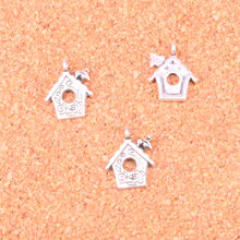 115 pcs Charms cabin house,Antique Making pendant fit,Vintage Tibetan Silver,jewelry DIY bracelet necklace 17*15mm
