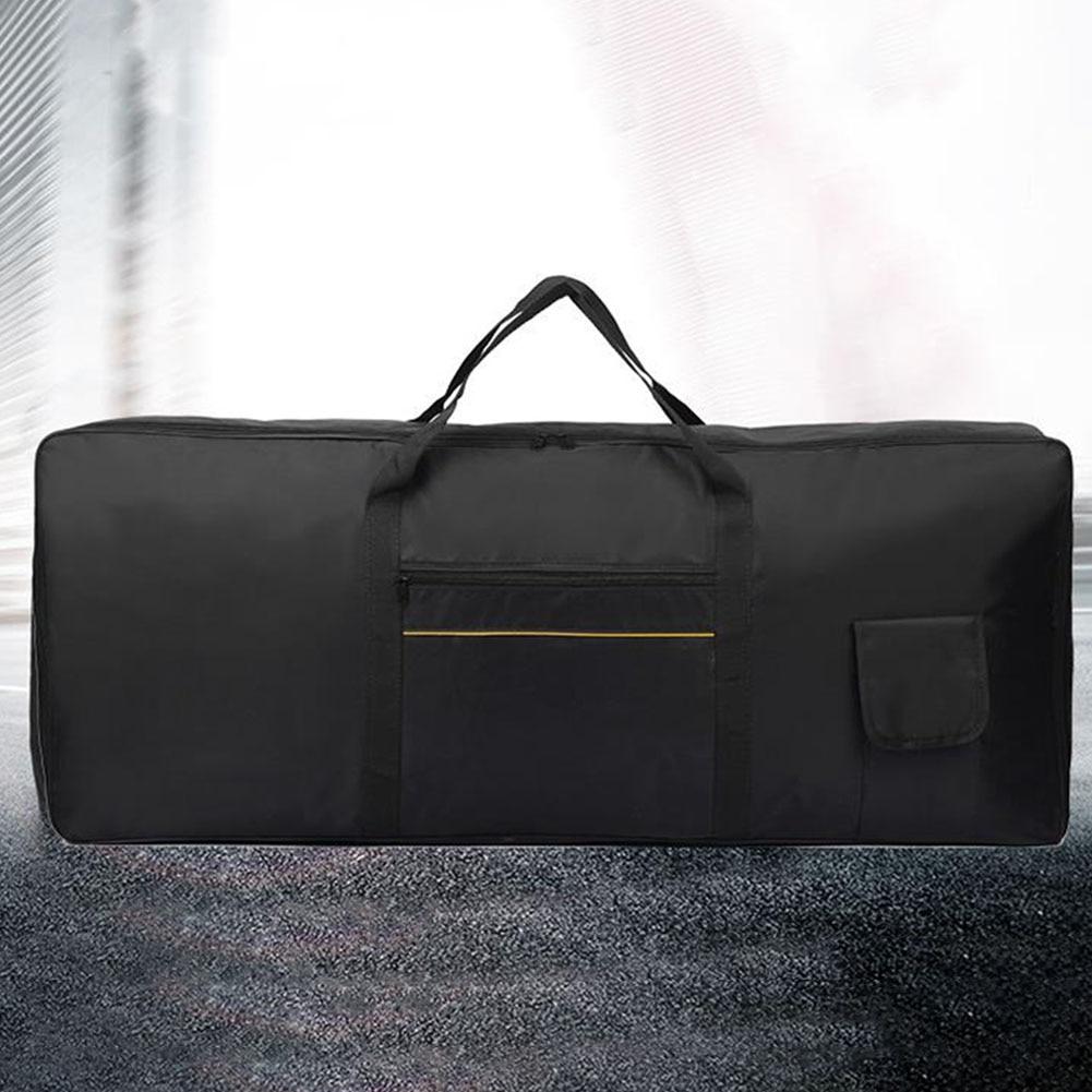 Piano Instrument Portable Keyboard Bag Storage Electronic Organ Anti Shock Protective 61 Keys Waterproof Padded Case Thicken