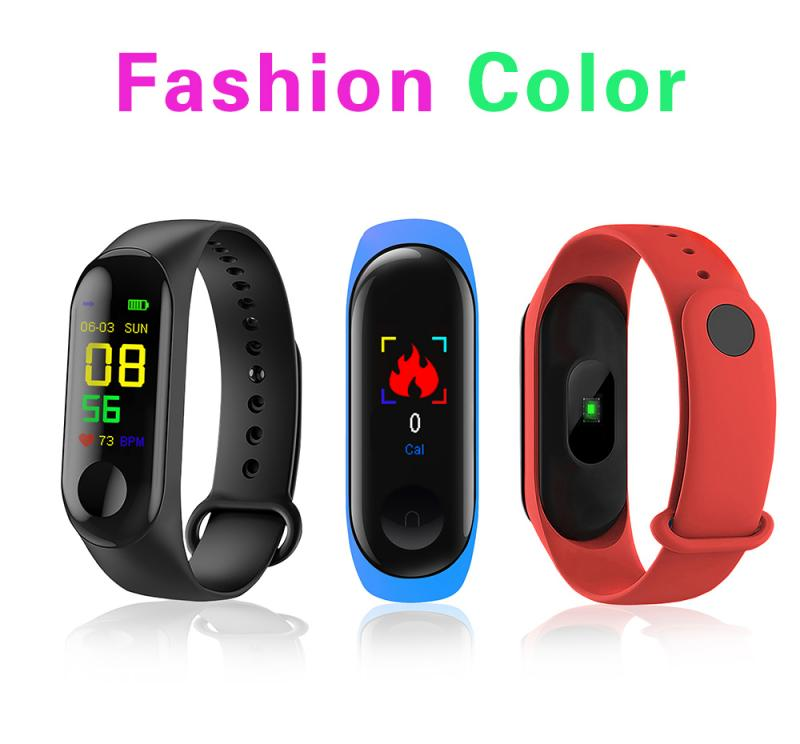 M3 Smart Band Wristband M4 Fitness Watch Blood Pressure/Heart Rate Monitor/Pedometer Waterproof Sports Bracelet for Health