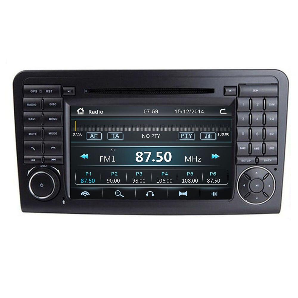 Reproductor estéreo de DVD de coche IPS para Mercedes/Benz GL ML clase W164 ML350 ML500 X164 GL320 con mapas BT GPS Radio - 2