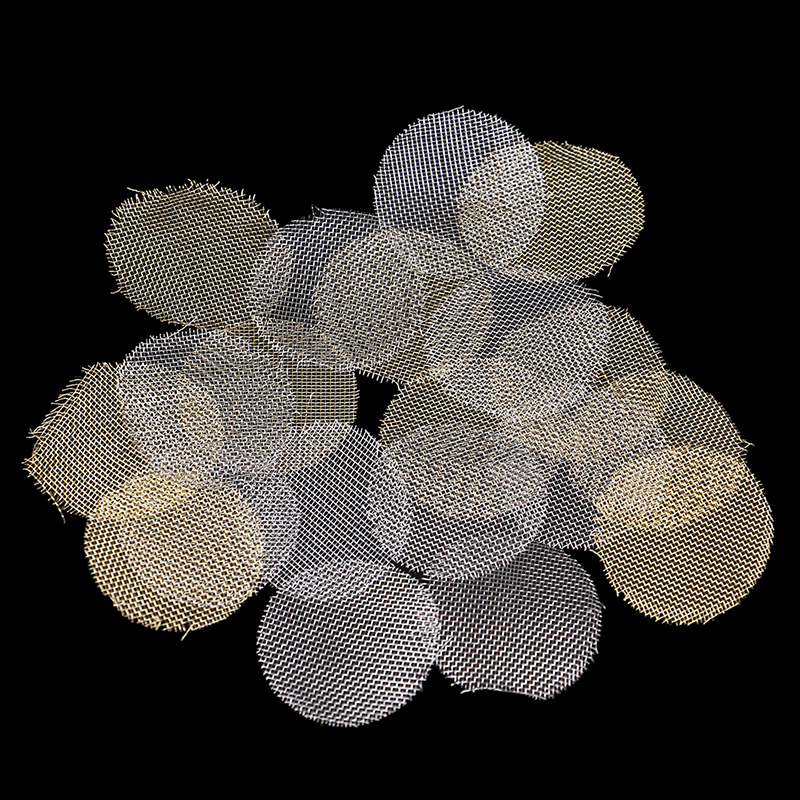 100pcs Multifunctional Hookah Water Pipe Stainless Steel Tobacco Smoking Accessorie Metal Filters Smoke Pipe Screen Gauze 20mm
